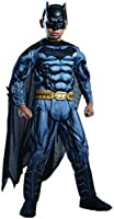 Rubie's Costume DC Superheroes Batman Child Deluxe Costume, Large