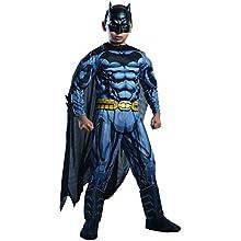 Rubie's Costume DC Superheroes Batman Child Deluxe Costume, Large