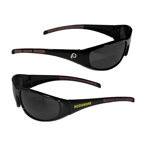 Washington Redskins Sunglasses (Purchadise NFL 3-Dot Wrap Sunglasses (Washington Redskins))