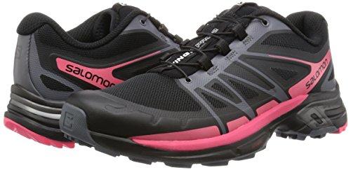 Black madder Pro black dark Shoes Trail Wings Salomon 2 Cloud Pink Running Women''s xwnqgFP06
