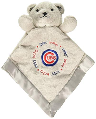 Cubs Onesie Chicago (Baby Fanatic Gray Security Bear - Chicago Cubs)