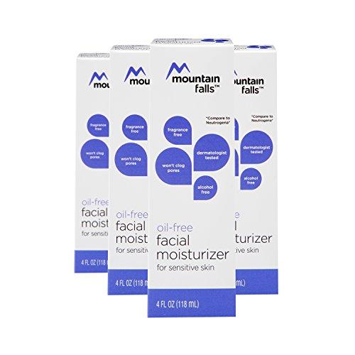 Mountain Falls Oil-Free Facial Moisturizer for Sensitive Skin, 4 Fluid Ounce (Pack of 4)