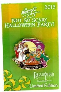 NEW Disney WDW Mickey's Not So Scary Halloween Party 2015 Passholder Pin -