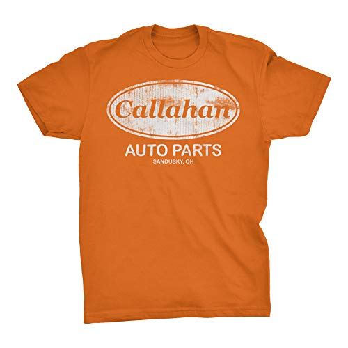 Callahan Auto Parts - Tommy Boy Distressed Vintage Style T-Shirt - TX Orange-XL