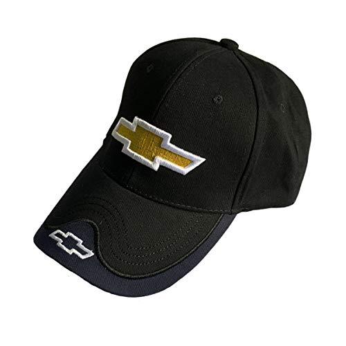 Chevrolet Hat Baseball (monochef Auto sport Car Logo Black Baseball Cap F1 Racing Hat for Chevrolet Accessory)
