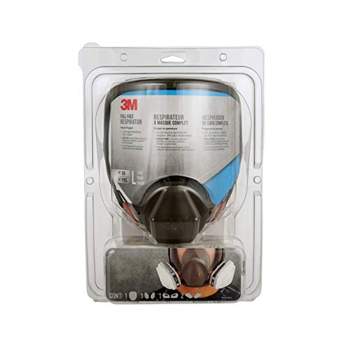 3M Full Face Paint Project Respirator, Large