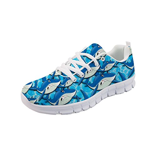 Showudesigns Sneakers Girls Shark Classic Designer Shoes Animal Sport Running Women 2 rFAHOwxqr