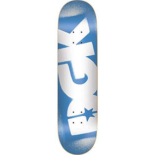 DGK Og Logo Skateboard Deck -8.0 Blue/White Deck ONLY - (Bundled with Free 1'' Hardware Set)