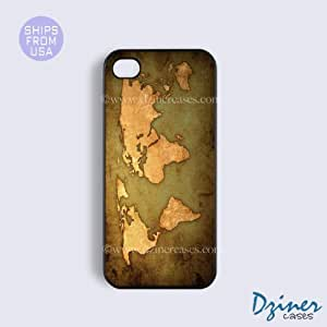 iPhone 5c Tough Case - Vintage World Map iPhone Cover