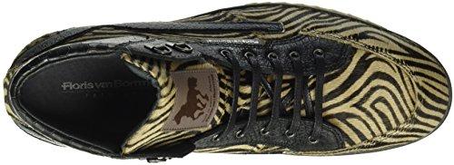 Floris van Bommel 10856/01, Sneaker Alte Uomo Grigio (Grigio (Grigio))