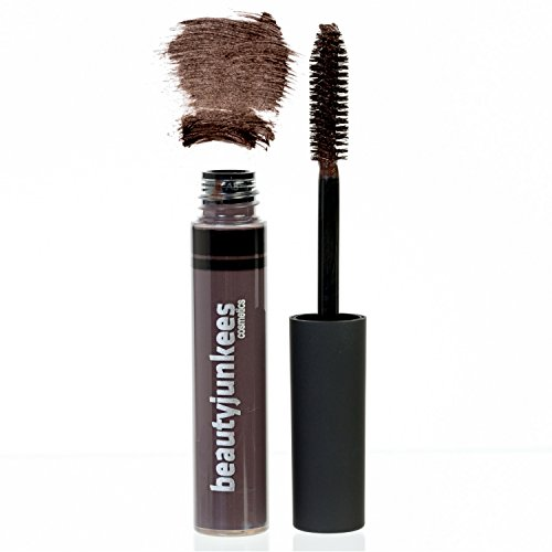 Tinted Eyebrow Gel Brow Mascara - Best Dark Brown Tint Browgel Filler for Natural Eye Brow Sculpting, Shaping, Volumizing, Setting, Sealer, Tamer, Made in the USA, Paraben Free, Maquillaje Para Cejas (Nyx Eyebrow Cake Powder Review Black Grey)