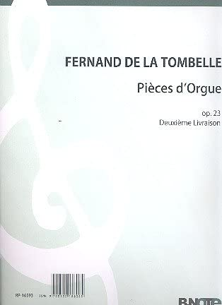 Pièces D 'orgue Opus.23Vol.2