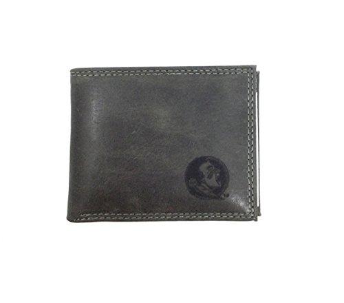Zeppelin Products NCAA Florida State University Seminoles Grey Embossed Passcase Wallet by Zeppelin (Image #1)