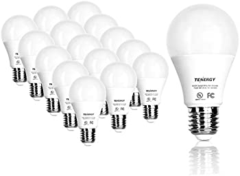 32 Pack Tenergy 9 watts Equivalent LED Light Bulb for Office/Home