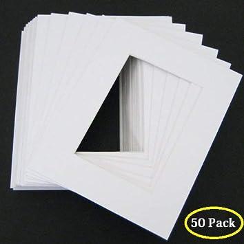 Golden State Art Acid Free 20 Single Mats 17-6EO1-1TJK Fit 8.5x11 Photo//Certificate 11x14 White Picture Mats Pack of 20 High Premier Bevel Pre-Cut White Core Mattes