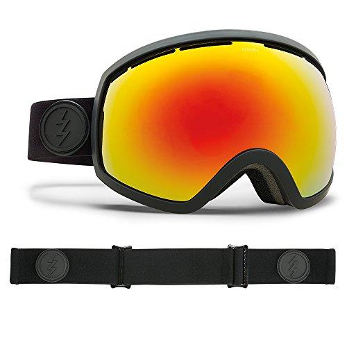 Electric Visual EG2 Matte Black/Brose Red Chrome Snow Goggle