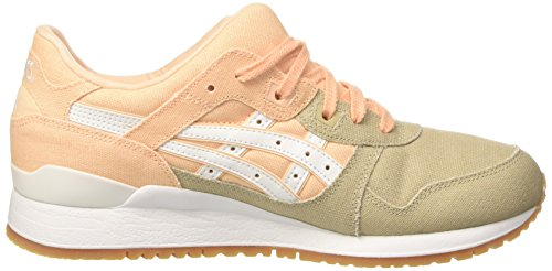 Asics Sneakers Bleached Lyte White Top Gel Orange Apricot Iii Low Women's HRHSrO