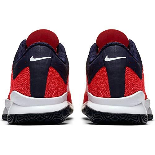 Bright Zoom NIKE Crimson White Blackened 5 Blue Shoes D Tennis Men's Air 9 Ultra US q4wpv4