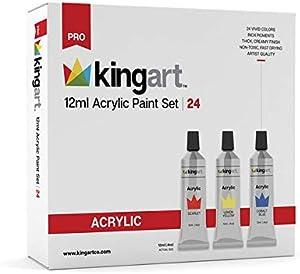 Sweepstakes: KINGART 505-24 12ml Acylic Set