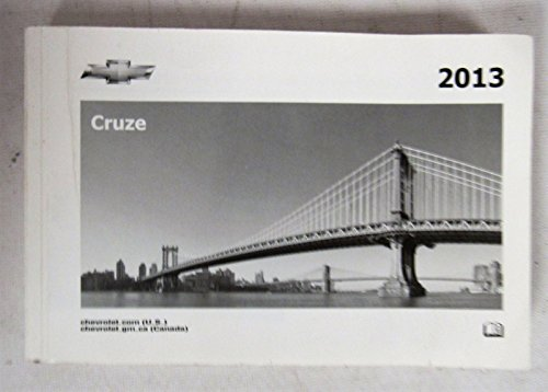 2013 Chevy Chevrolet Cruze Owners Manual Guide Book
