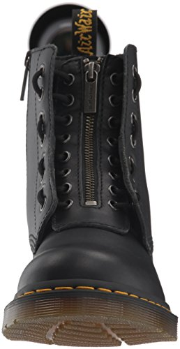 Nappa Black Pascal Front Leather Stivali Martens Donna 1460 Dr Zip HzqBYnx