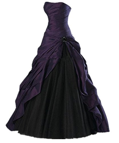 Pleated Wedding Gown - 7