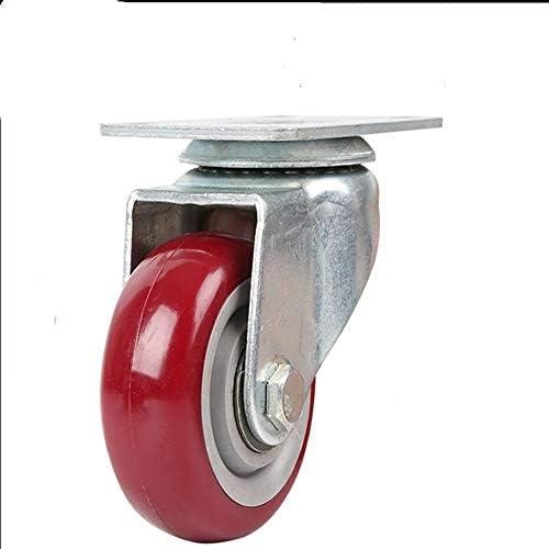 ChenCheng 家具ムーバーゴムホイールソリッドソリッドゴムホイールキャスター小型ホイール副軸プッシュホイール household products