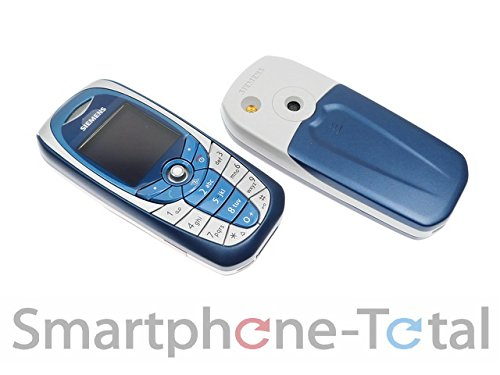 Ng Mobile Siemens C65 Handy In Weiss Blau Ohne Ovp Amazon De