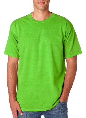 Comfort Colors Ringspun Garment-Dyed T-Shirt. 1717 Lime - New Outlet In Store Jersey