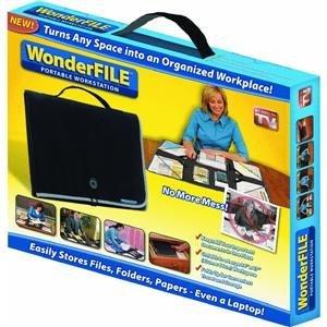 Wonderfile Portable Workstation (Black) by Wonderfile Portable Workstation
