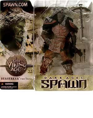 Spawn Series 22 Viking Age  Berserker the Troll Action Figure