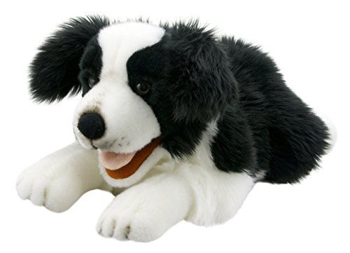 Playful Border - The Puppet Company Playful Puppies Border Collie Hand Puppet