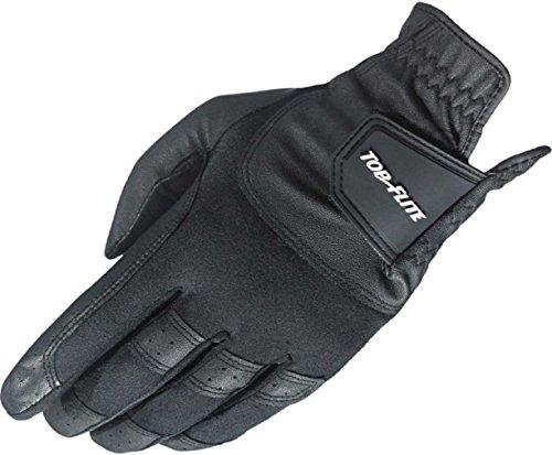 Top Flite Men's Gamer Golf Glove - Left Hand - Black