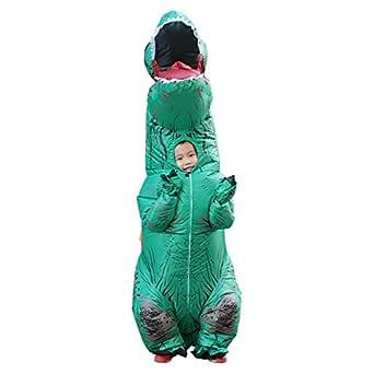 ShiyiUP Disfraces Inflable Dinosaurios Traje Hinchable Adultos y ...