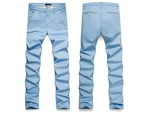 light blue khakis - 2