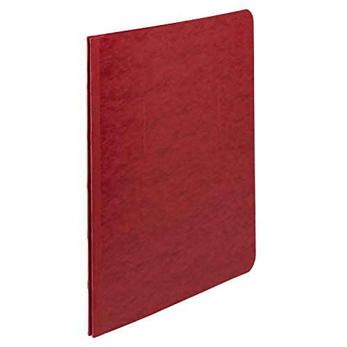 ACCO Pressboard Report Cover, Side Bound, Tyvek Reinforced Hinge, 8.5 Inch Centers, 3 Inch Capacity, Letter Size, Executive Red (A7025979A) ()