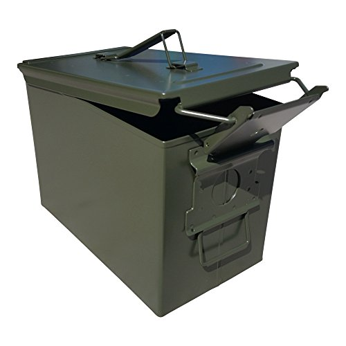 ACM New Fat 50 Cal Ammo Can Military Ammunition Storage Box