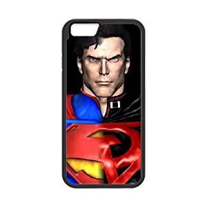 iPhone 6 4.7 Inch Cell Phone Case Black Superman Phone Case Covers Protective Personalized CZOIEQWMXN4919