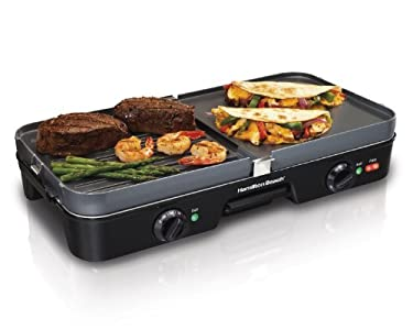Hamilton Beach 38546 3-in-1 Grill/Griddle – PUT TO GREAT USE!