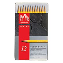 Caran d'Ache Techno graph of 12 metal BOX set 0777-312 (japan import)