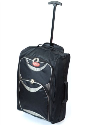 Amazon.com: Ligero con ruedas bolso vuelo cabina trolley ...