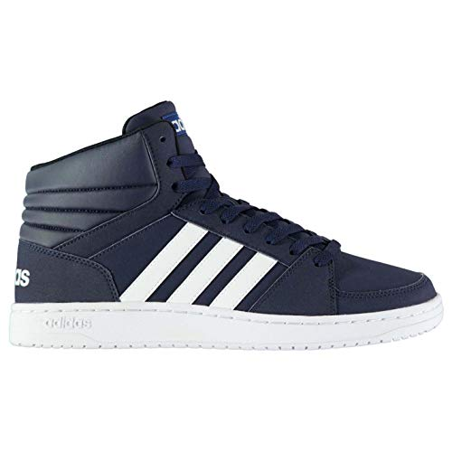 Mens Hi Adidas Blue Tops Mid Hoops dRwfYPqY