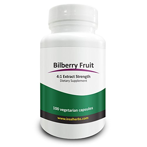 Real Herbs Bilberry Extract Cardiovascular product image