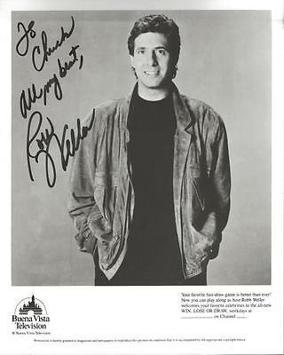 (Robb Weller Signed 8x10 Photo Win Lose or Draw)