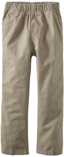 Pants And Wes Boys Willy (Wes & Willy Little Boys' Toddler Twill Flat Front Pant, Sand, 2T)