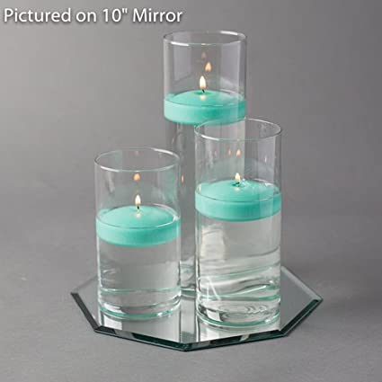 Amazon Eastland Octagon Mirror And Cylinder Vases Centerpiece