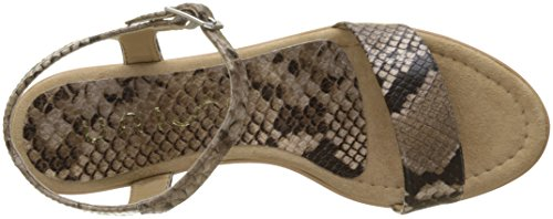Unisa Women's Irita_18_vp Open Toe Sandals Multicolour (Funghi Steel) nicekicks online outlet with credit card F4FzGQifQ