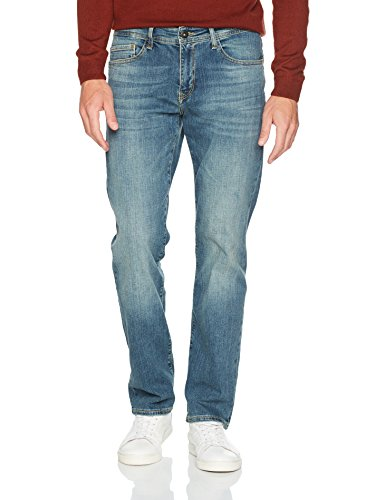Cross Hombre Vaqueros Antonio para Blau 092 Mid Jeans Blue R116wqz