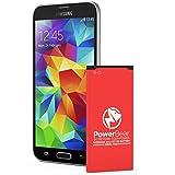 PowerBear Samsung Galaxy S5 Battery | 2,800 mAh Li-Ion Battery for the Galaxy S5 [I9600, G900F , G900V (Verizon), G900T (Tmobile), G900A (AT&T), G900P (Sprint)] | S5 Spare Battery [24 Month Warranty]