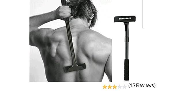 Silverback afeitadora para espalda y cuerpo. Maquinilla de afeitar ...